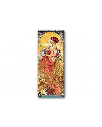 Malowanie po numerach - Alfons Mucha - Lato