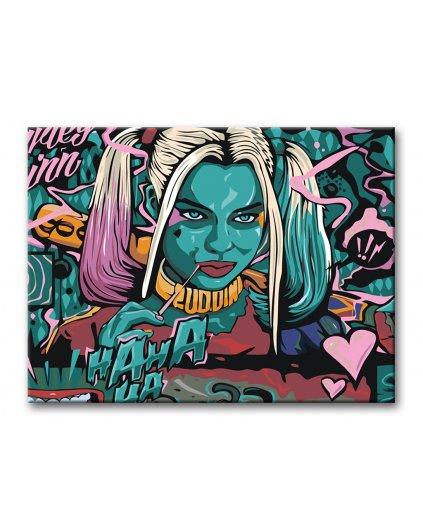 Malowanie po numerach - Harley Quinn