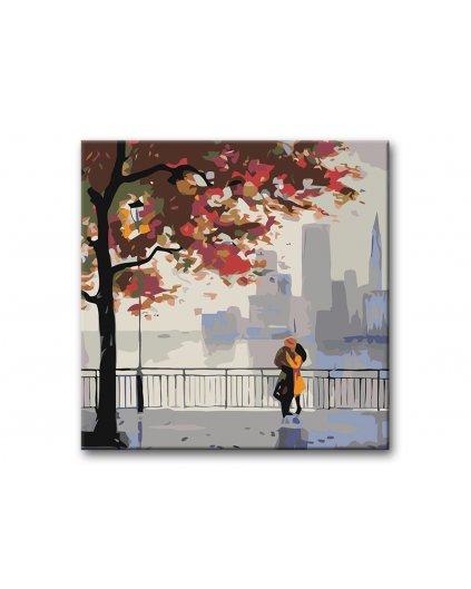 Malowanie po numerach - Jesienny spacer