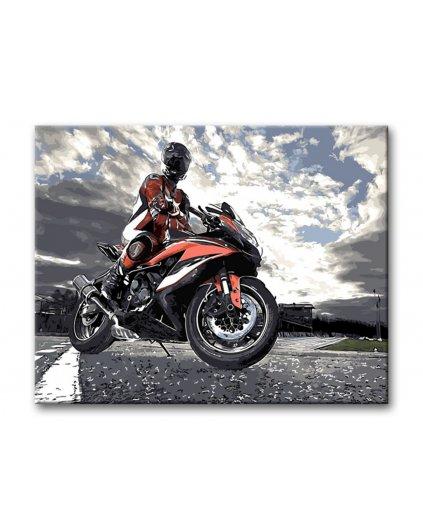Malowanie po numerach – Na motocyklu