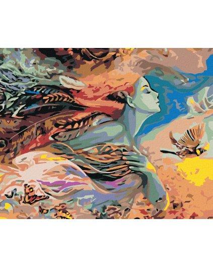 Malowanie po numerach – Matka natura
