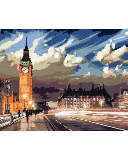 Malowanie po numerach - ZMIERZCH NAD LONDYNEM