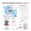 Malowanie po numerach – Stary samolot nad miastem