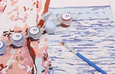Najčastejšie chyby, ktoré robia začiatočníci v maľovaní podľa čísel
