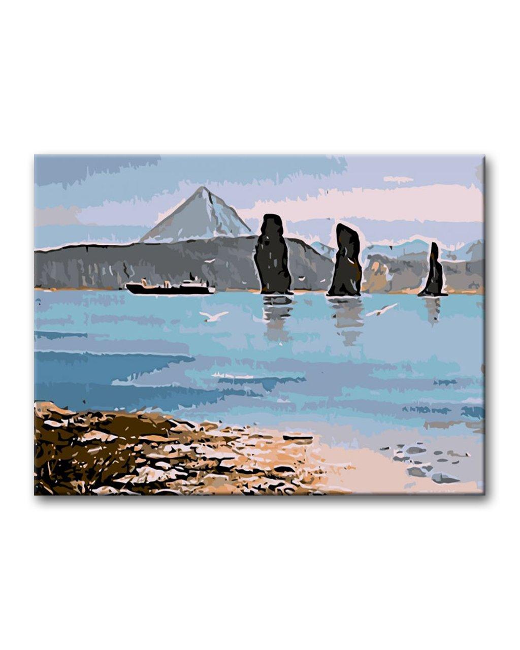 Maľovanie podľa čísel - MALÝ TANKER NA MORI