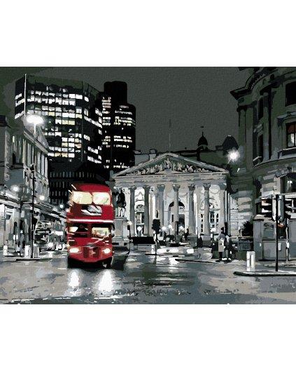 Maľovanie podľa čísel - LONDÝNSKY BUS