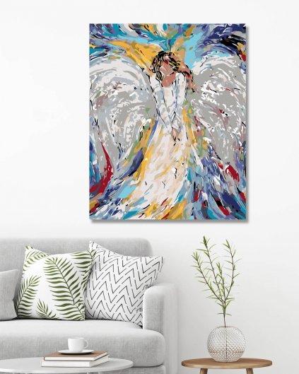 Maľovanie podľa čísel - ANJELSKA ŽENA
