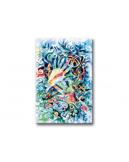 Maľovanie podľa čísel - MAGICKÉ RUKY