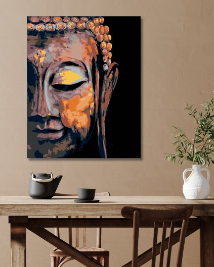 Maľovanie podľa čísel - BUDDHA