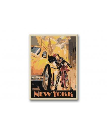 Maľovanie podľa čísel - NEW YORK