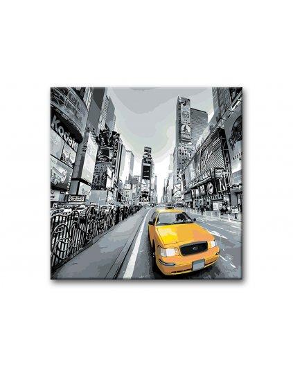 Maľovanie podľa čísel - TAXI V NEW YORKU