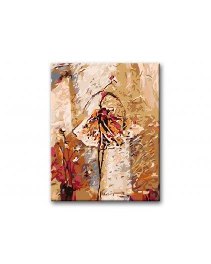 Maľovanie podľa čísel - TANEČNICA III