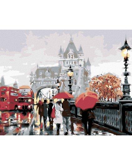 Maľovanie podľa čísel - LONDÝN