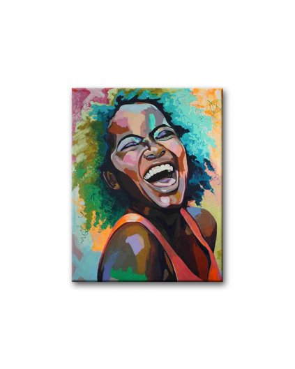 Maľovanie podľa čísel - PORTRÉT SMIECH