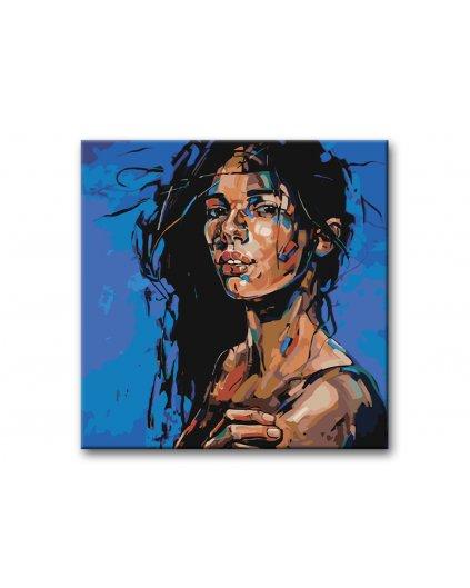 Maľovanie podľa čísel - ZMYSELNÝ PORTRÉT ŽENY