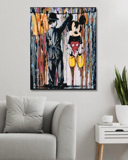 Maľovanie podľa čísel - MICKEY MOUSE
