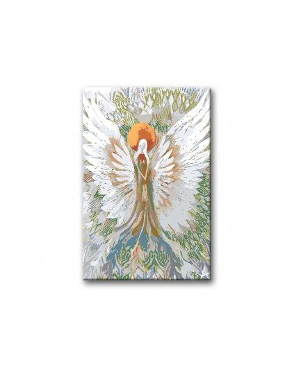 Maľovanie podľa čísel - ANJELI OD LENKY - ANGEL OF HUMILITY