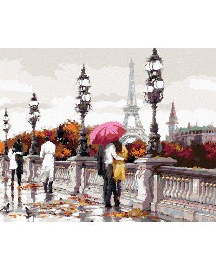 Maľovanie podľa čísel - MOST V PARÍŽI (RICHARD MACNEIL)