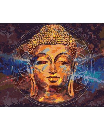 Maľovanie podľa čísel - HVIEZDNY BUDDHA