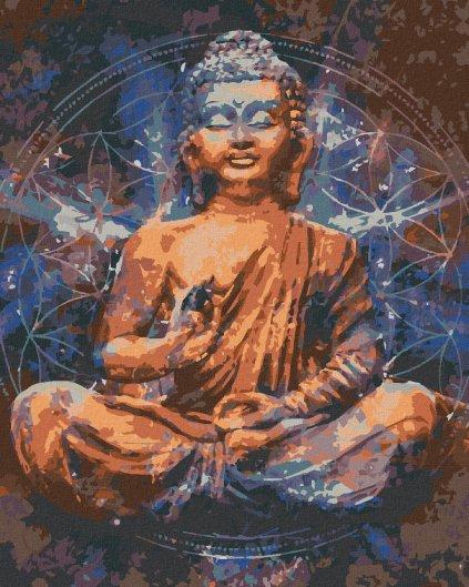 Maľovanie podľa čísel - HVIEZDNY BUDHA III