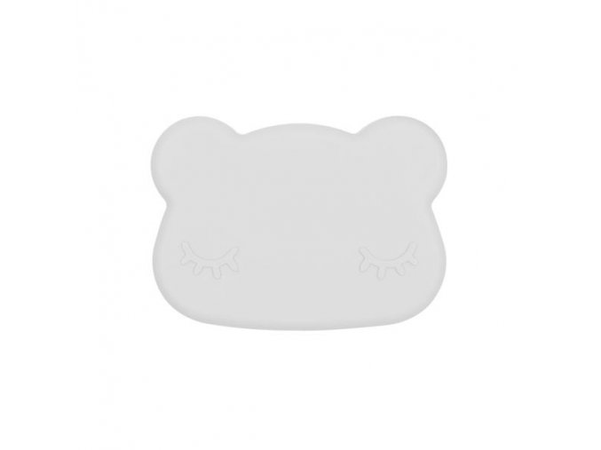 Bear snackie closed Light grey low grande