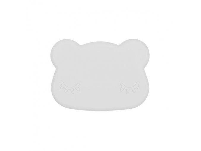 Bear snackie closed Light grey low grande