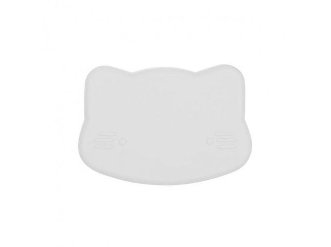 Cat snackie closed Light grey low grande