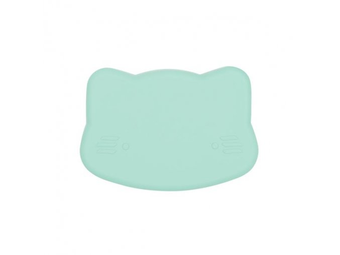 Cat snackie closed Minty green low grande