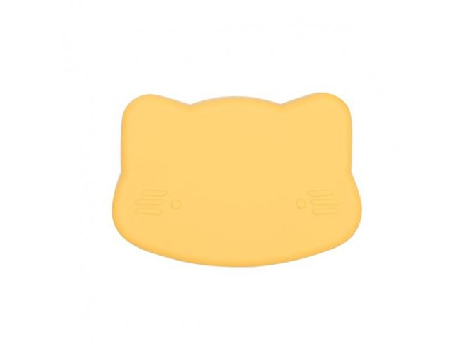 Cat snackie closed Yellow low grande