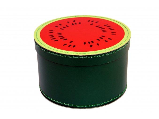 1743 krabice kulata 25cm meloun