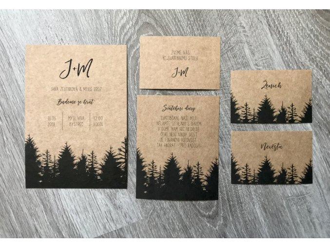 Svatební oznámení no.67 (Varianty produktu Štítek kulatý 5cm)