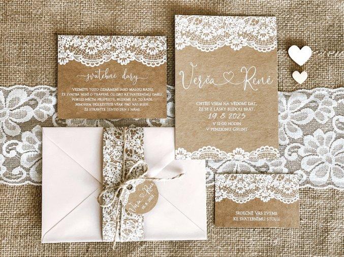 Svatební oznámení no.77 (Varianty produktu Štítek kulatý 5cm)