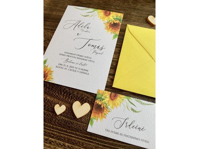 Svatební oznámení no.94 (Varianty produktu Štítek kulatý 5cm)