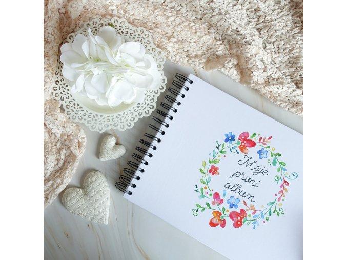 3392 moje prvni album kolekce kvetinova laska