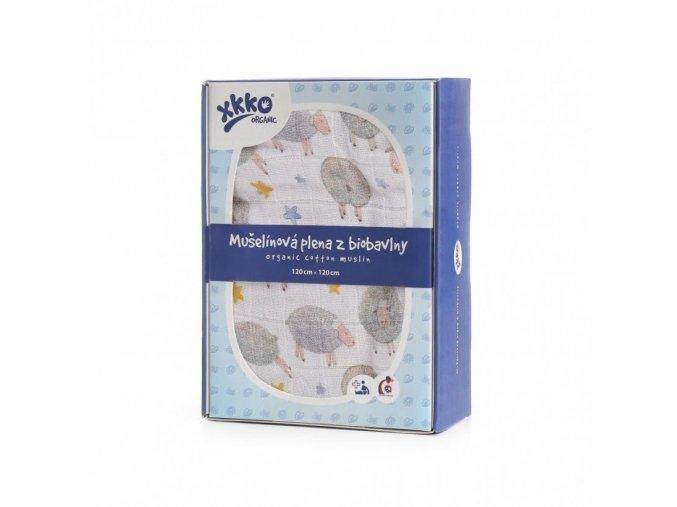 biobavlnena plena xkko organic 120x120 dreamy sheeps 482