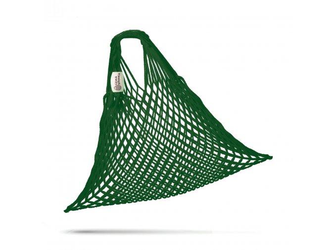 CESKA SITOVKA pruzna bavlna zelena lesni rozbalena 3000