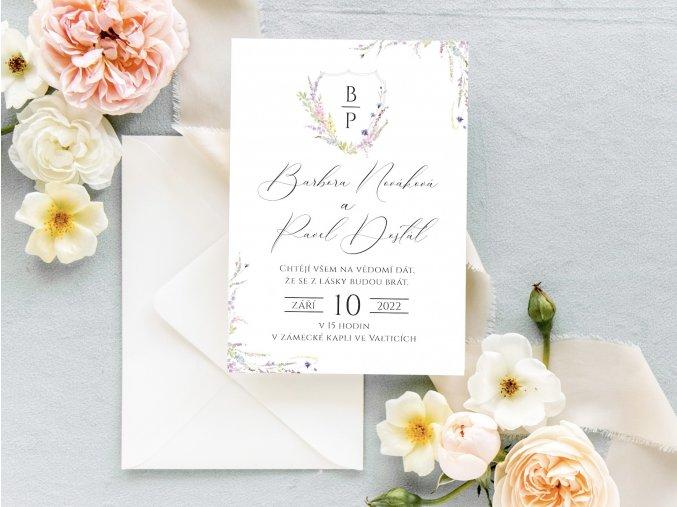 Svatební oznámení no.21 (Varianty produktu Svatební oznámení)