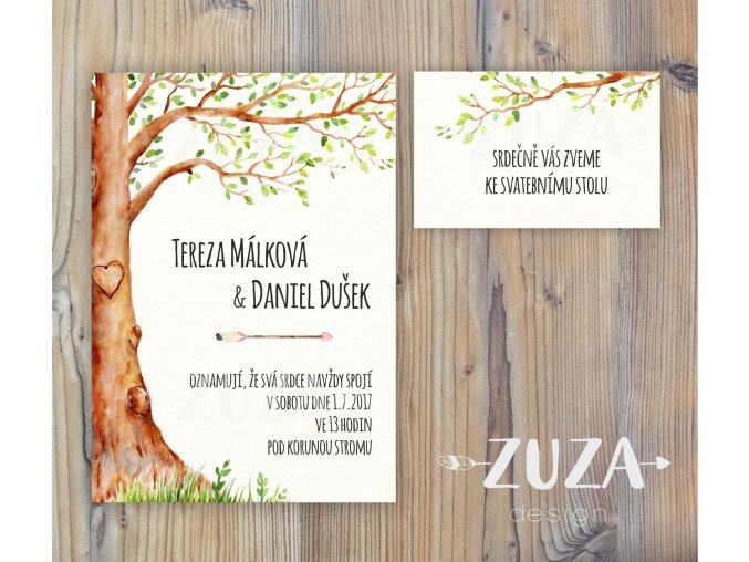 Svatební oznámení no.16 (Varianty produktu Svatební oznámení)
