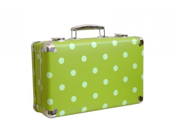 nýtovaný kufr