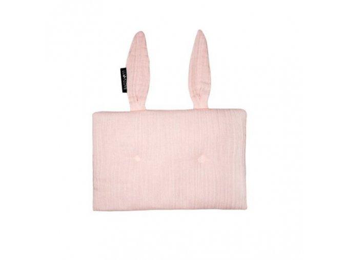 Polštářek králíček Světle růžový 1 (1)