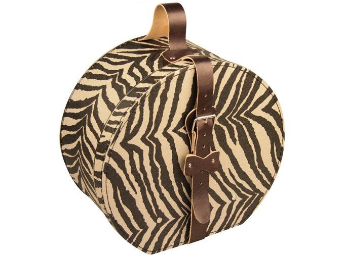 kazeto kloboukova krabice zebra