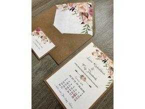 Svatební oznámení no.51 (Varianty produktu Štítek kulatý 5cm)