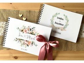 Svatební kniha - na míru (Počet listů 60 listů)