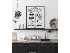 pravidla kuchyně
