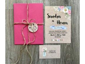 Svatební oznámení no.1 (Varianty produktu Svatební oznámení)