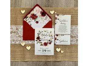 Svatební oznámení no.100 (Varianty produktu Štítek kulatý 5cm)