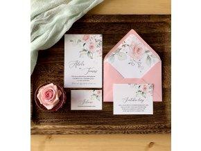 Svatební oznámení no.127 (Varianty produktu Štítek kulatý 5cm)