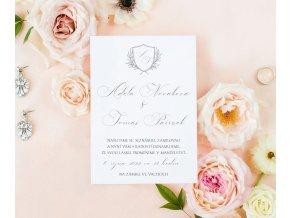 Svatební oznámení no.128 (Varianty produktu Štítek kulatý 5cm)