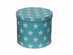 351 kulata krabice modra 25 cm