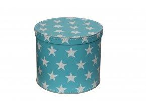 357 kulata krabice modra 20 cm